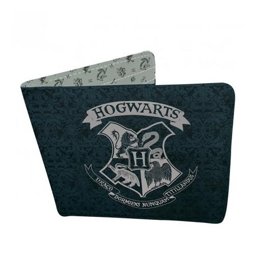 HARRY POTTER Hogwarts Roxfort logo pénztárca