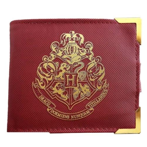 HARRY POTTER Golden Hogwarts Roxfort prémium pénztárca