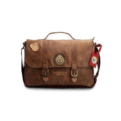 Harry Potter Hogwarts logo prémium oldaltáska/ laptop táska