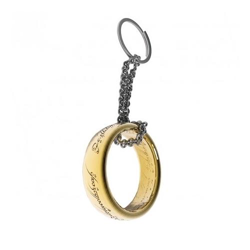 Lord of the rings A gyűrűk ura One ring 3D fém kulcstartó