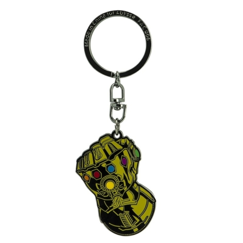 Marvel Avengers Infinity Gauntlet - Végtelen kesztyű fém kulcstartó