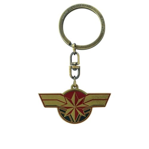 Marvel Kapitány Captain Marvel fém kulcstartó