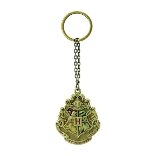 HARRY POTTER Hogwarts Crest Roxfort 3D fém kulcstartó