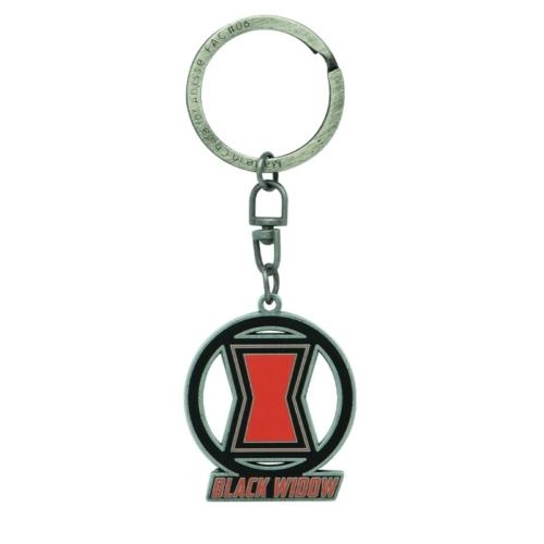 Marvel Black Widow fém kulcstartó