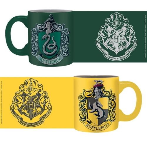 Harry Potter Slytherin & Hufflepuff kávés bögre csomag 110 ml