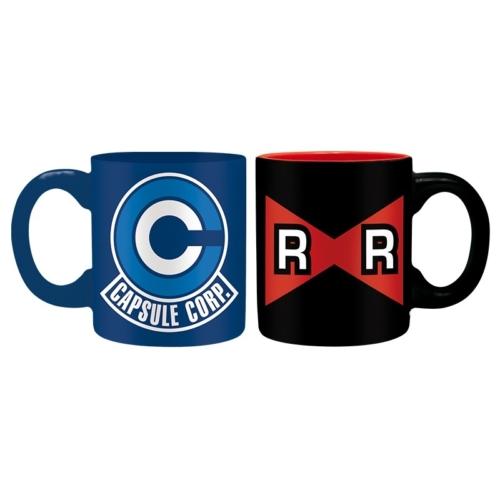 DRAGON BALL Z Capsule C vs R Ribbon kávés bögre csomag 110 ml