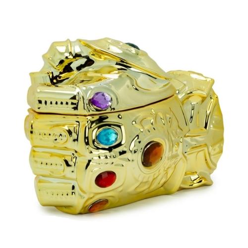 Marvel Thanos Infinity Gauntlet Végtelen kesztyű 3D bögre 350 ml
