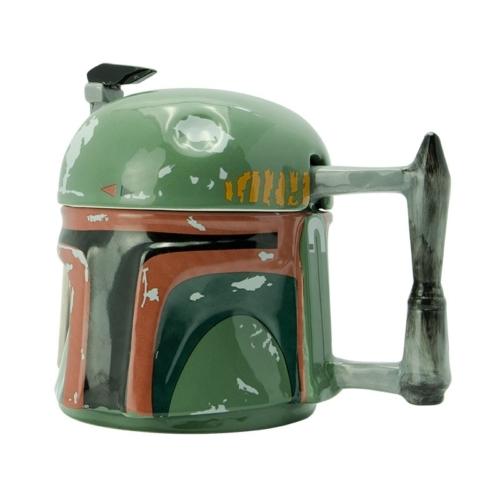 Star Wars - Csillagok Háborúja - Boba Fett 3D bögre