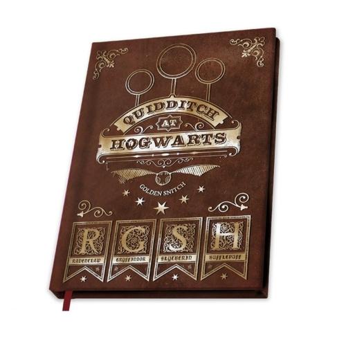 Harry Potter Quidditch notesz jegyzetfüzet