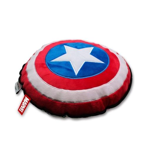 MARVEL Captain America Shield Amerika Kapitány pajzsos párna 32 x 8 cm