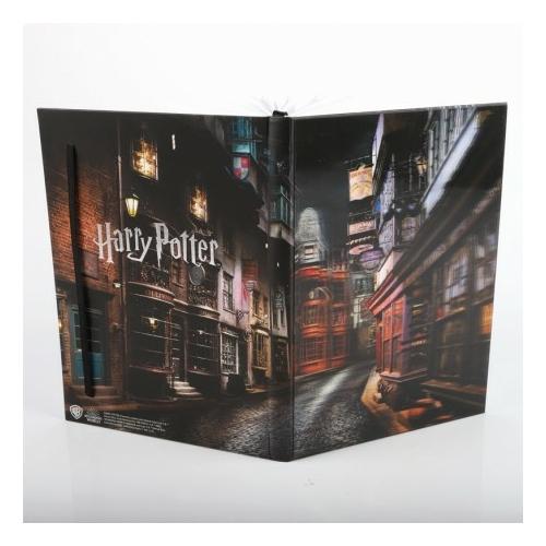 Harry Potter - Diagon Alley 3D hologram notesz jegyzetfüzet