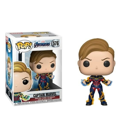 Marvel Avengers Endgame - Captain Marvel New Hair POP figura