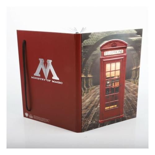 Harry Potter - Ministry of Magic 3D hologram notesz jegyzetfüzet