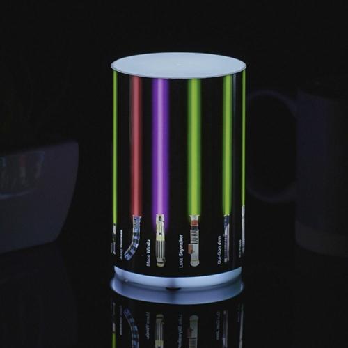 STAR WARS - Csillagok Háborúja Lightsaber mini fénykardos USB hangulat lámpa 12 cm