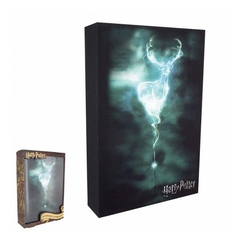 Harry Potter Patronus világító falidísz