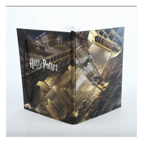 Harry Potter Hogwarts Magic Staircase Roxfort 3D hologram jegyzetfüzet