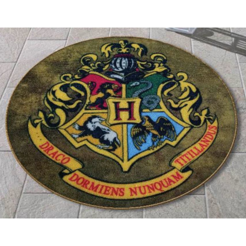 Harry Potter Hogwarts kerek alakú lábtörlő 60 cm