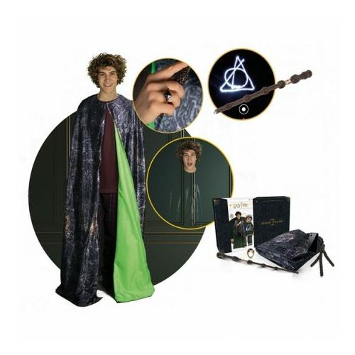 Harry Potter Deathly Hallows Collection láthatatlanná tevő köpeny ajándékcsomag