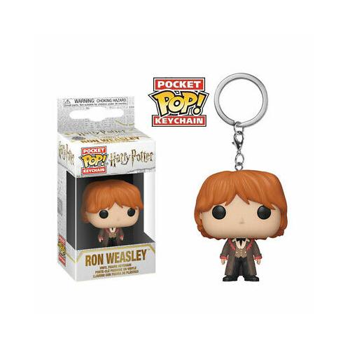 HARRY POTTER PoP! Ron Weasley Yule ball POP figurás kulcstartó 4 cm