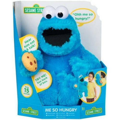 Sesame Street - Cookie Monster beszélő plüssfigura