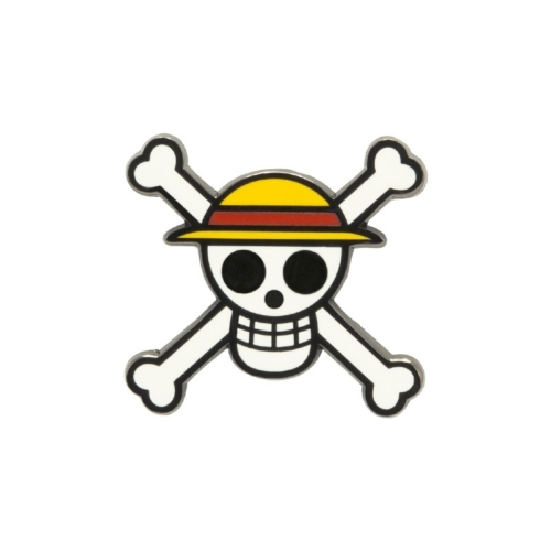 One Piece fém kitűző