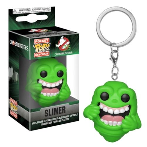 POP! Pocket Pop Ghostbusters Szellemírtók Slimer Ragacs figura kulcstartó 4 cm