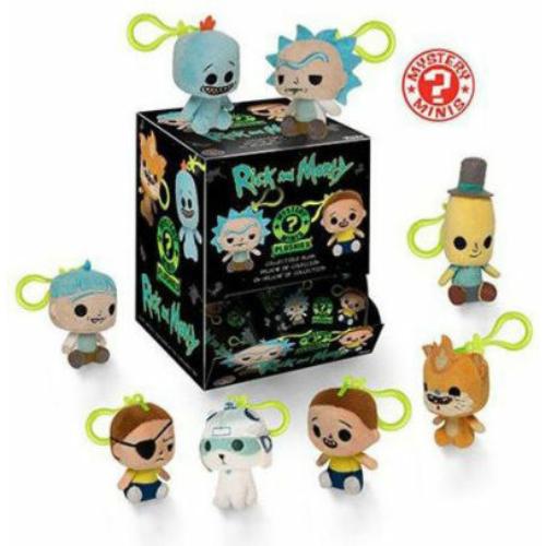 Rick and Morty mystery mini plüssfigura