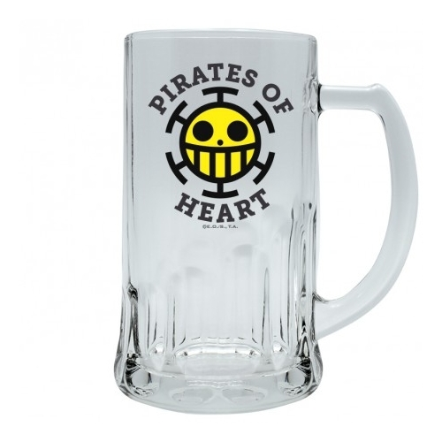 One Piece Pirates of Heart korsó 500 ml