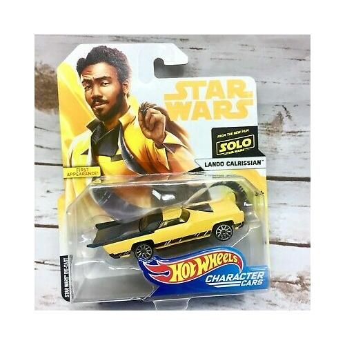 Star Wars - Csillagok Háborúja Hot Wheels Lando Calrissian auto