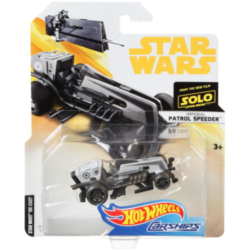 Star Wars - Csillagok Háborúja Hot Wheels Imperial Patrol Speeder auto
