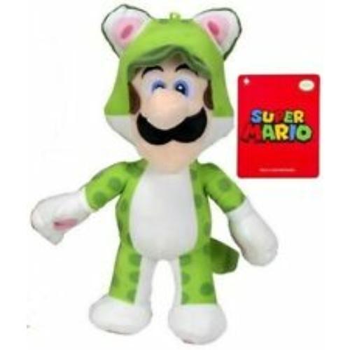 Nintendo Super Mario Power Suits plüssfigurák Luigi 28 cm