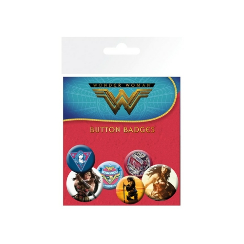 DC Comics - Wonder Woman kitűző készlet