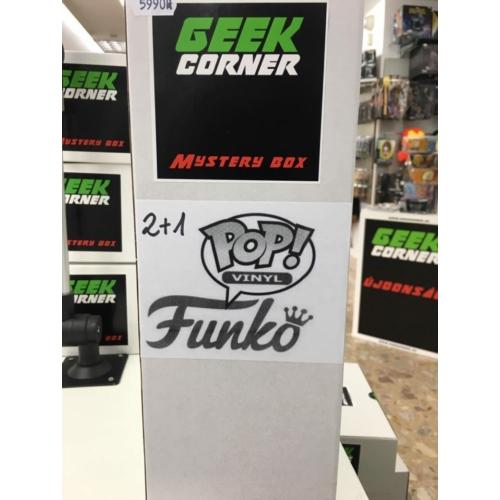 Mystery box Meglepetés csomag Funko PoP 2+1 darabos