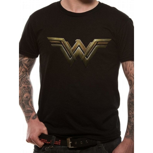 DC Comics - Wonder Woman logo póló