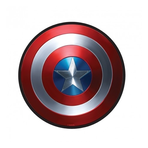 Marvel Captain America shield flexi egérpad