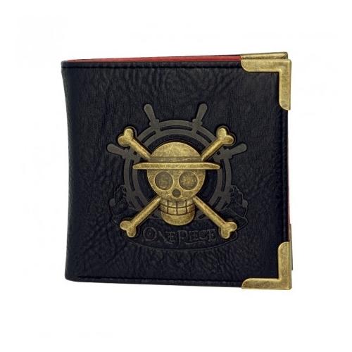 One Piece Skull premium pénztárca