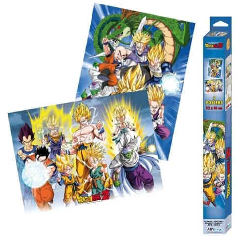 Dragon Ball chibi poszter szett