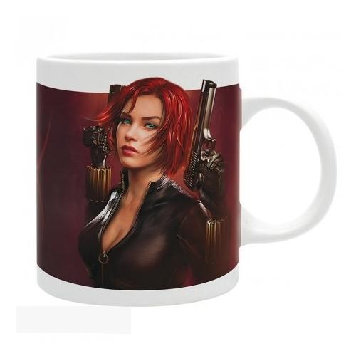 Marvel - Black Widow Fekete Özvegy portrait bögre