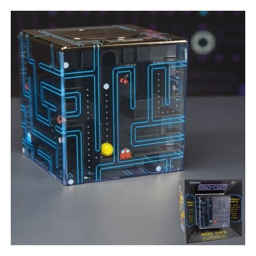 Pac-Man labirintus persely