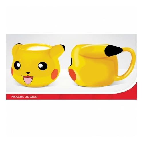 Pokemon Pikachu 3D bögre