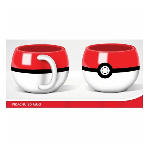 Pokemon - Pokeball 3D bögre
