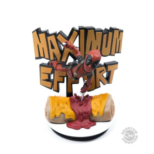 Marvel Q-Fig Deadpool Maximum Effort szobor