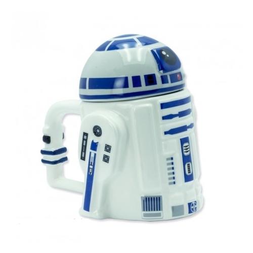 Star Wars Csillagok Háborúja R2-D2 3D bögre 250 ml