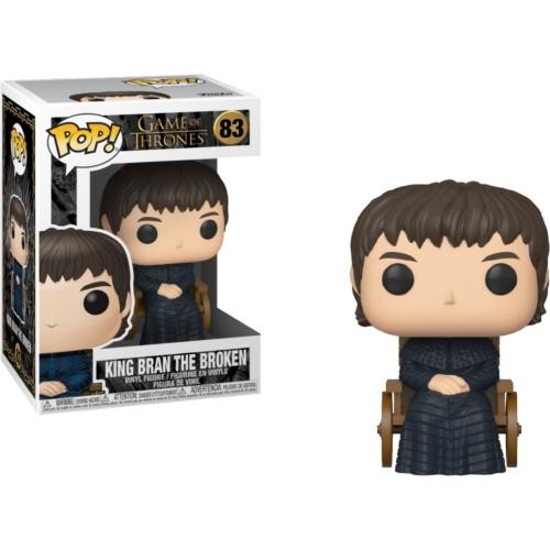 POP! Game of Thrones Trónok Harca  King Bran the Broken POP figura (83) 9 cm