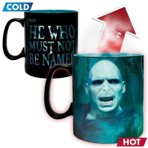 Harry Potter Voldemort hőre változó bögre