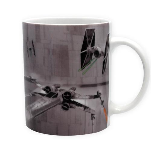 Star Wars X-Wing VS Tie Fighter Csillagok háborúja bögre 320 ml