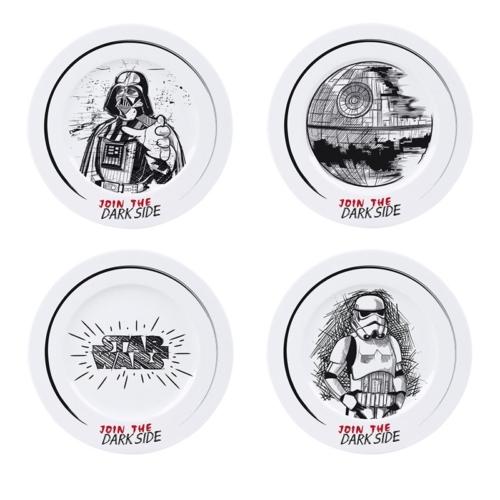 Star Wars - Csillagok Háborúja - Join the dark side tányér szett