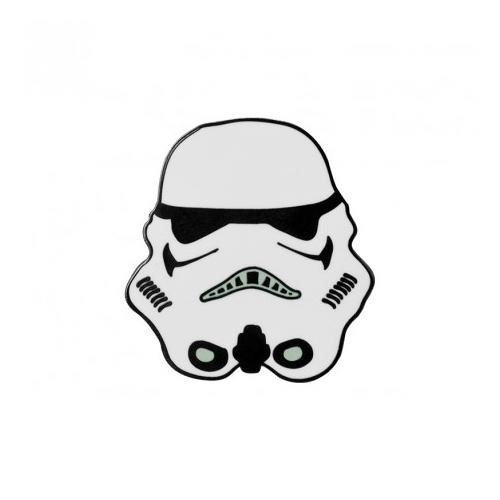 Star Wars Stormtrooper- Csillagok Háborúja Rohamosztagos fém kitűző