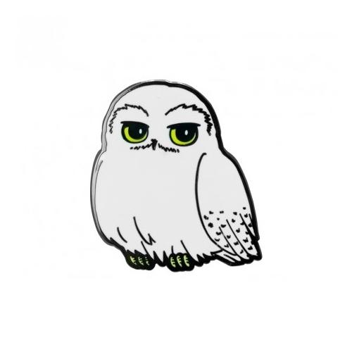 Harry Potter Hedwig fém kitűző