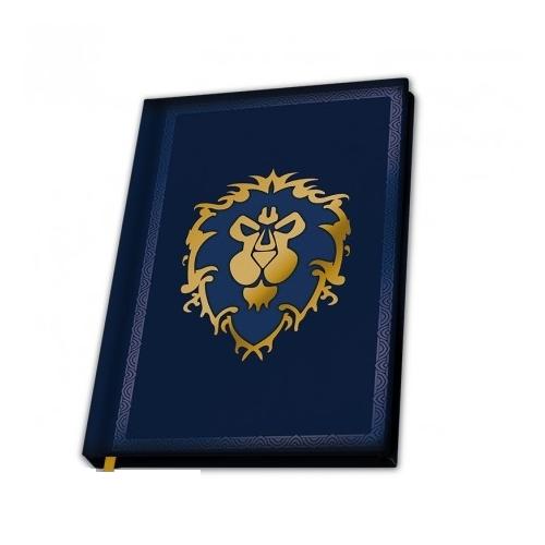 World of Warcraft For the Alliance notesz jegyzetfüzet A5